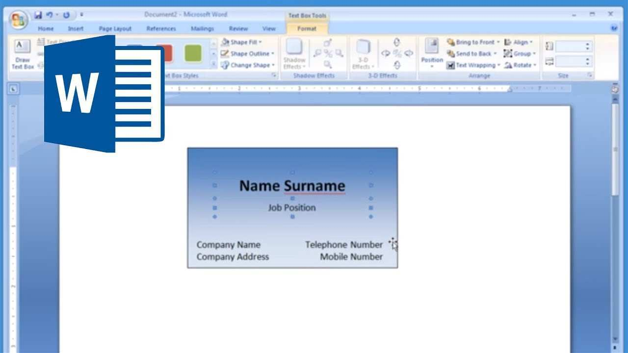 64 Free Business Card Templates In Word 2007 With Stunning Design For Business Card Templates In Word 2007 Cards Design Templates