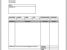 64 Free Printable Automotive Repair Invoice Template For Quickbooks Layouts with Automotive Repair Invoice Template For Quickbooks