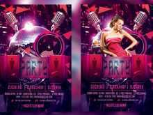64 How To Create Club Flyer Templates With Stunning Design with Club Flyer Templates