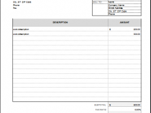 64 How To Create Invoice Template For Repair in Word for Invoice Template For Repair