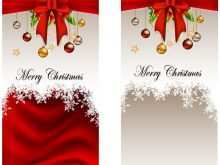 64 Printable Christmas Card Photo Template Vector For Free for Christmas Card Photo Template Vector