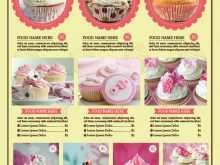 64 Printable Cupcake Flyer Template Photo by Cupcake Flyer Template