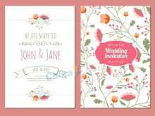 Wedding Card Design Templates Photoshop