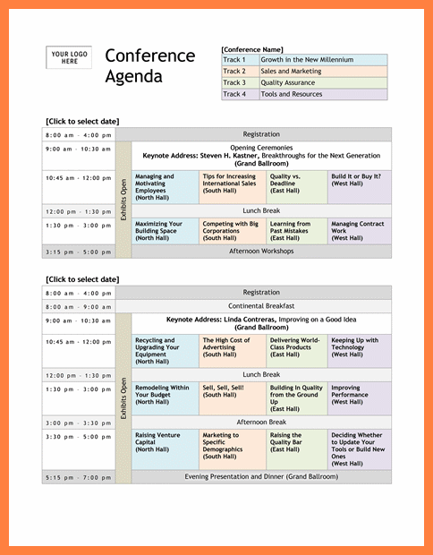 64 Standard Agenda Template For Seminar With Stunning Design by Agenda Template For Seminar