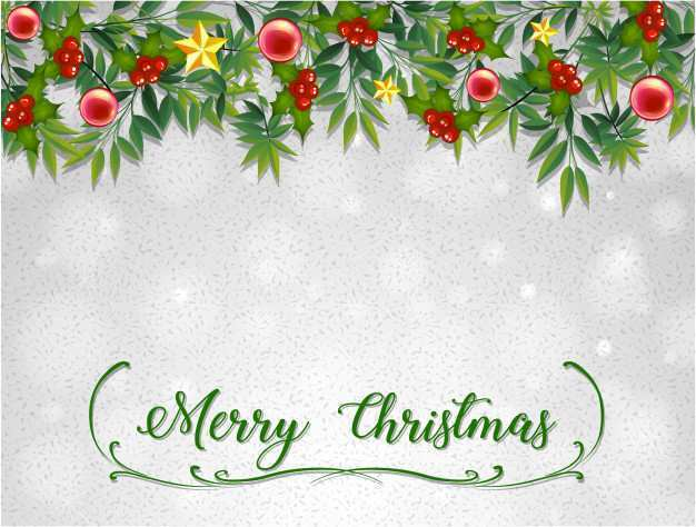 64 Standard Christmas Card Template To And From in Photoshop with Christmas Card Template To And From