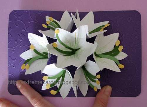 64 The Best 3D Flower Pop Up Card Tutorial Step By Step With Stunning Design with 3D Flower Pop Up Card Tutorial Step By Step