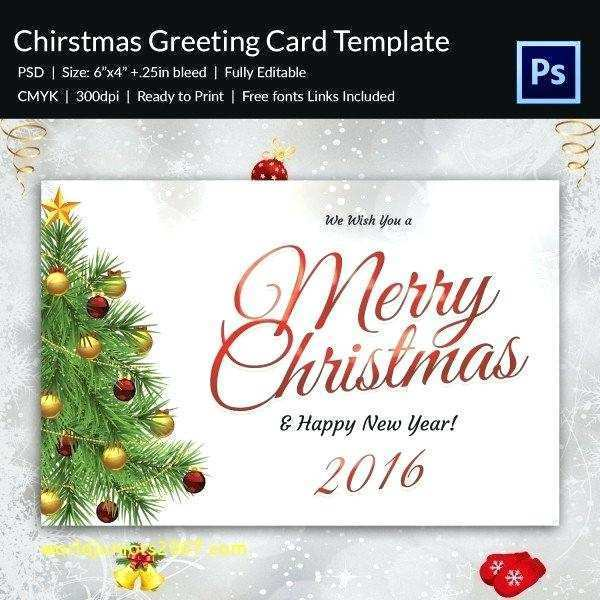 64 The Best 4 By 6 Christmas Card Template PSD File with 4 By 6 Christmas Card Template