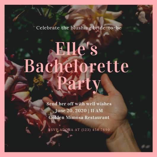 64 The Best Bachelorette Party Agenda Template Free For Free with Bachelorette Party Agenda Template Free