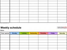 64 The Best Class Schedule Template Maker Download by Class Schedule Template Maker