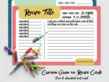 64 Visiting 4X6 Recipe Card Template Free in Word for 4X6 Recipe Card Template Free
