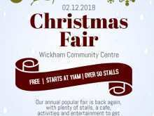 65 Adding Christmas Fair Flyer Template For Free with Christmas Fair Flyer Template