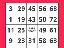 65 Best Bingo Card Template 5X5 Excel For Free for Bingo Card Template 5X5 Excel