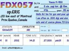 65 Best Qsl Card Template Download Maker with Qsl Card Template Download