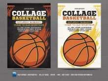 65 Blank Basketball Game Flyer Template For Free by Basketball Game Flyer Template