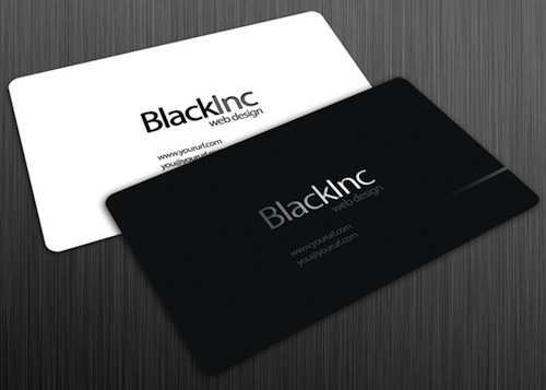 65 Blank Business Card Template Black And White for Ms Word by Business Card Template Black And White