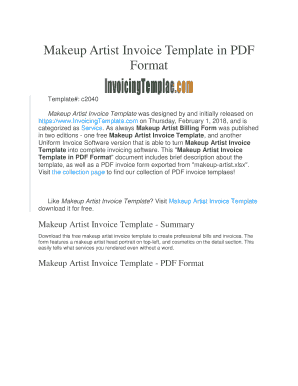 65 Create Artist Invoice Template Pdf Templates by Artist Invoice Template Pdf