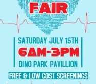 65 Create Health Fair Flyer Template Download with Health Fair Flyer Template