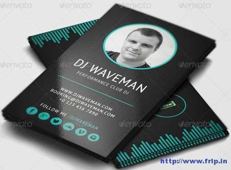 65 Creative Business Card Templates Dj Free Download for Business Card Templates Dj Free