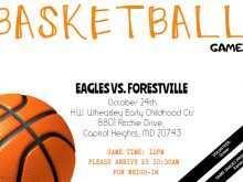 65 Customize Basketball Game Flyer Template Maker for Basketball Game Flyer Template