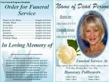 65 Customize Our Free Funeral Flyer Templates Now with Funeral Flyer Templates