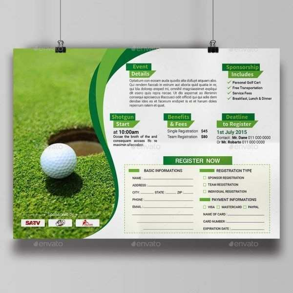 Golf Tournament Flyer Template Publisher from legaldbol.com