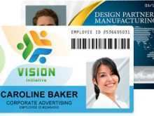 Employee Id Card Template Microsoft Word Free Download