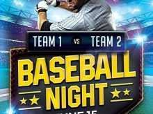 65 Free Baseball Flyer Template Free For Free with Baseball Flyer Template Free