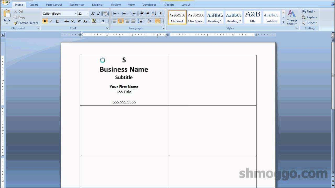 65 Free Printable A4 Name Card Template Word Download with A4 Name Card Template Word