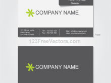 Name Card Template Ai Free Download