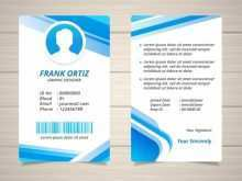 65 How To Create Id Card Template Eps Formating with Id Card Template Eps