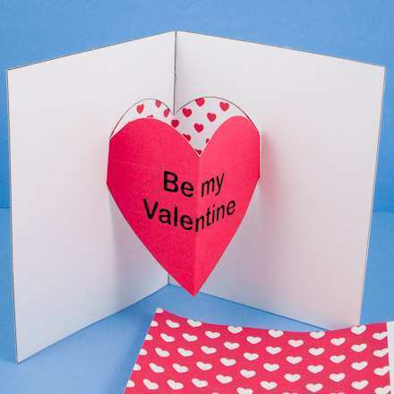 65 How To Create Pop Up Card Templates Valentine Photo with Pop Up Card Templates Valentine