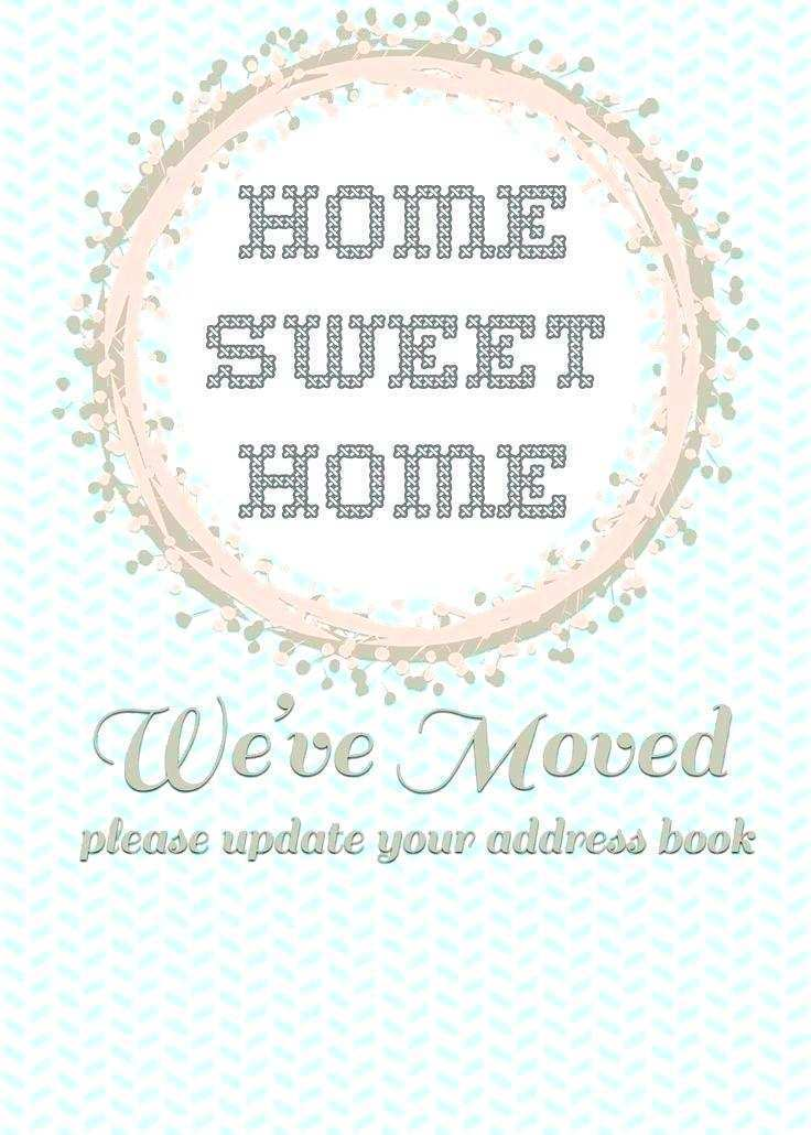 65 Online Free Printable Moving Announcement Card Template in Photoshop with Free Printable Moving Announcement Card Template