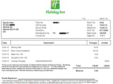 65 Online Hotel Invoice Template Pdf Maker with Hotel Invoice Template Pdf
