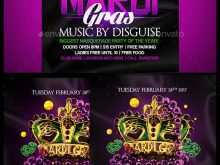 65 Online Mardi Gras Flyer Template PSD File with Mardi Gras Flyer Template