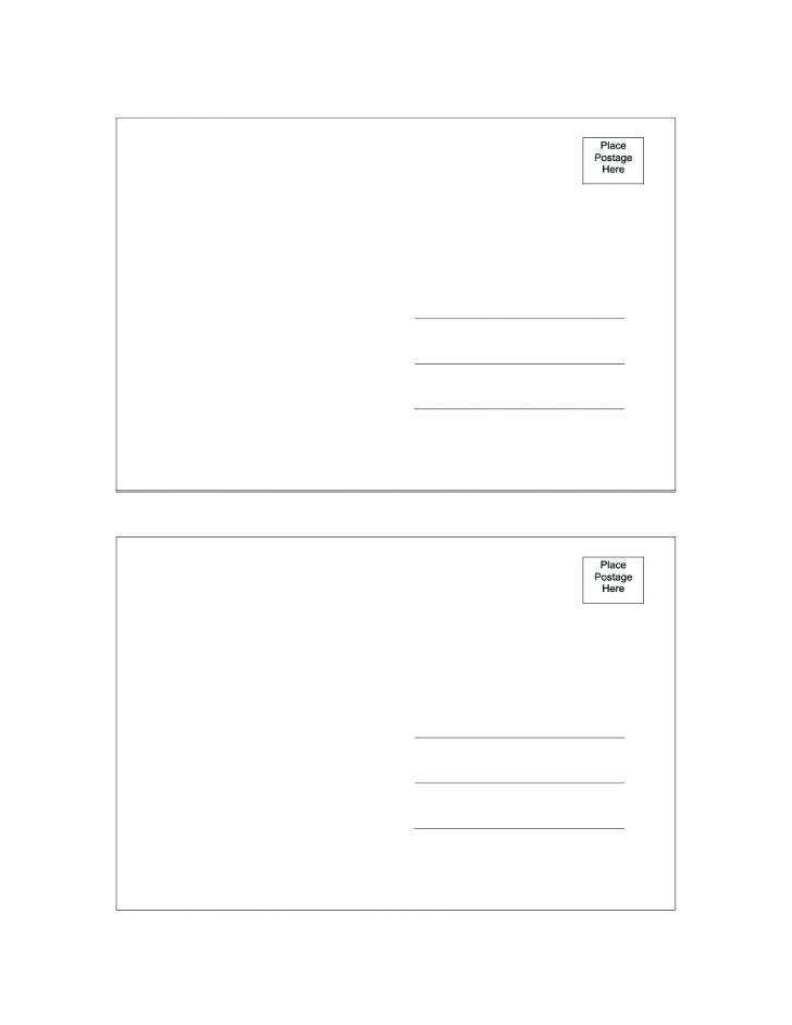 65 Printable 4 X 6 Postcard Template For Publisher Download with 4 X 6 Postcard Template For Publisher