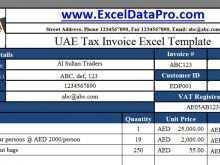 65 Printable Vat Invoice Template In Saudi Arabia Formating with Vat Invoice Template In Saudi Arabia