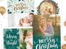 65 Report Christmas Card Template Photographer For Free by Christmas Card Template Photographer