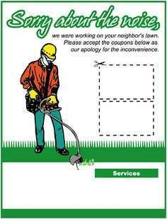 65 Report Mowing Flyer Template for Ms Word with Mowing Flyer Template