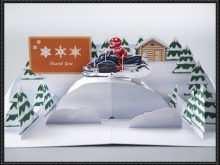 65 Standard Mountain Pop Up Card Template Photo with Mountain Pop Up Card Template