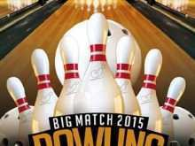 65 Visiting Bowling Event Flyer Template in Photoshop for Bowling Event Flyer Template