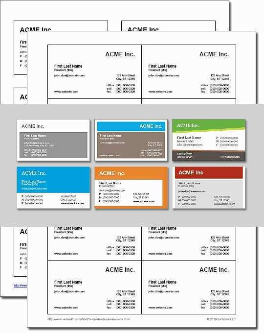 66 Best Business Card Template In Word 2007 PSD File by Business Card Template In Word 2007