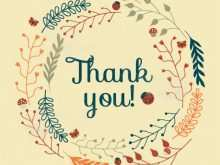 66 Best Free Thank You Card Templates To Download Layouts for Free Thank You Card Templates To Download