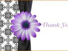 Holiday Thank You Card Template Word