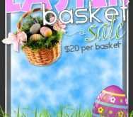 Basket Raffle Flyer Template