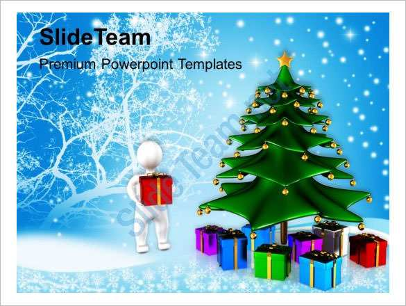 66 Blank Christmas Card Template For Powerpoint PSD File by Christmas Card Template For Powerpoint