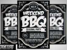 66 Create Bbq Flyer Template for Ms Word by Bbq Flyer Template