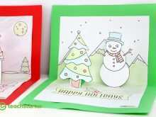 66 Create Christmas Pop Up Card Templates Free Download Download with Christmas Pop Up Card Templates Free Download