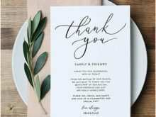 Thank You Card Diy Template