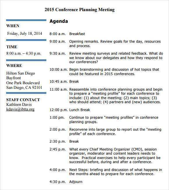 66 Creative 1 Day Conference Agenda Template Psd File For 1 Day Conference Agenda Template Cards Design Templates