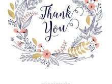 66 Creative 5X7 Thank You Card Template for 5X7 Thank You Card Template